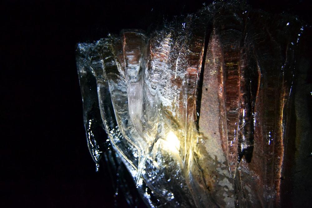 Raufarhólshellir Lavahöhle in Island