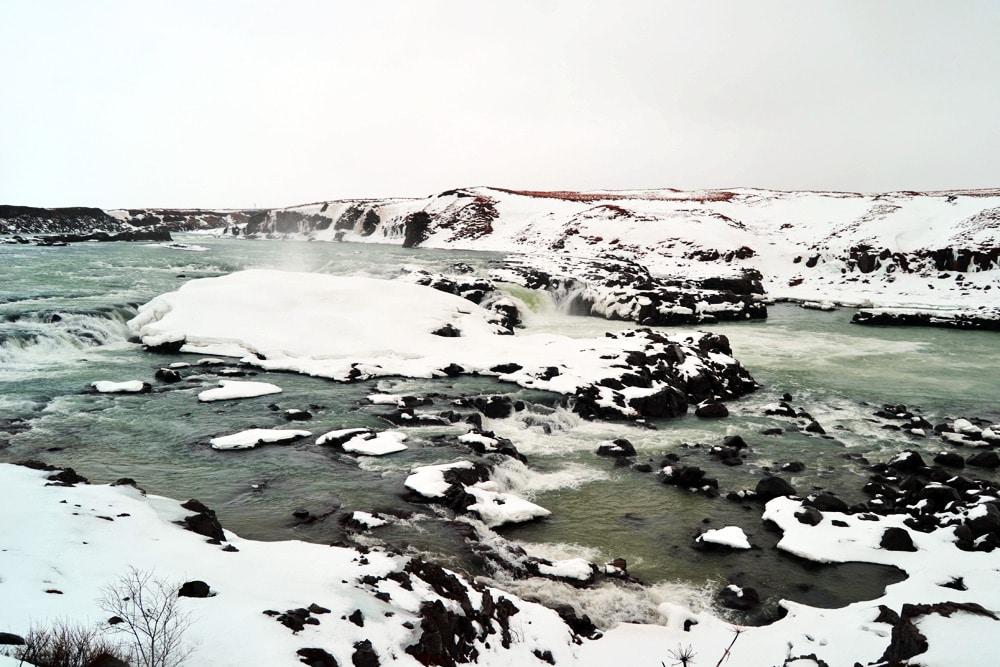 Urriðafoss - Wasserfalls in Island