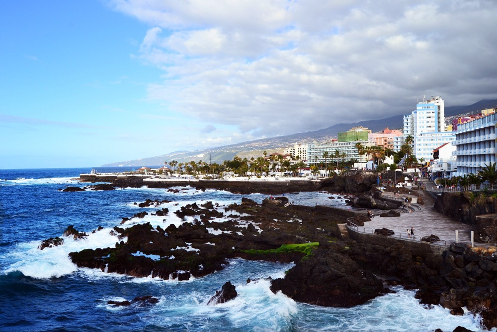 Puerto de la Cruz auf Teneriffa: Promenade