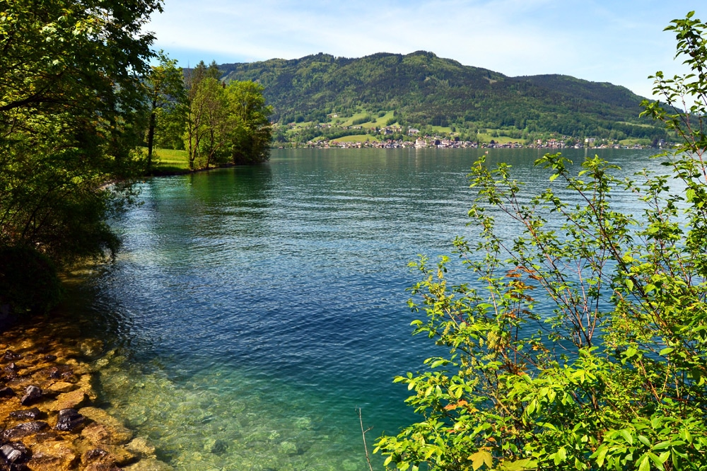 Attersee im Salzkammergut Österreich