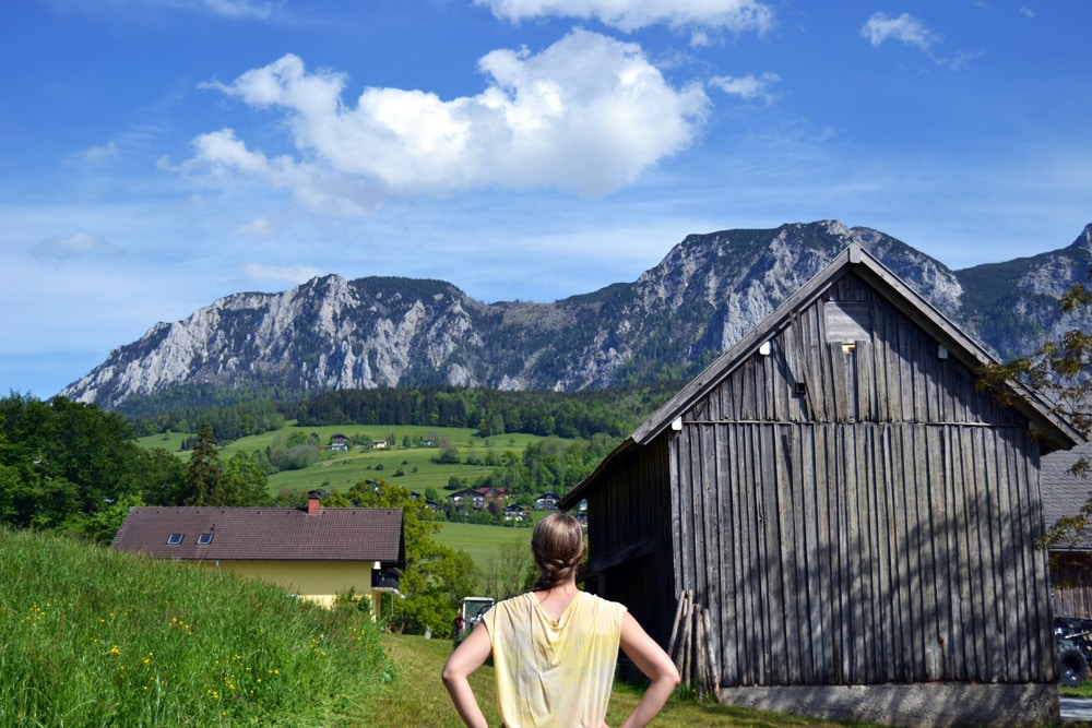 Wandern im Salzkammergut Attersee