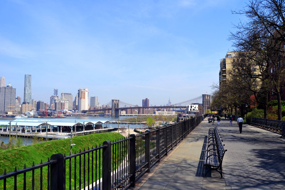 Brooklyn Heights Park New York City