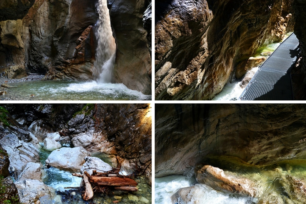 Burggrabenklamm am Attersee - Wasserfall in Österreich