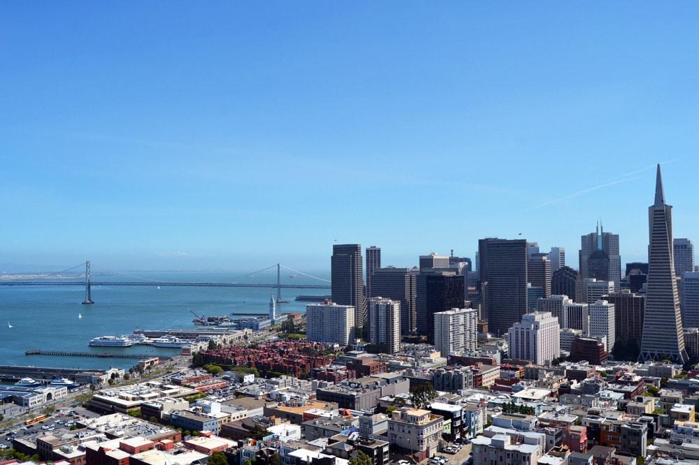 Coit Tower San Francisco Aussicht