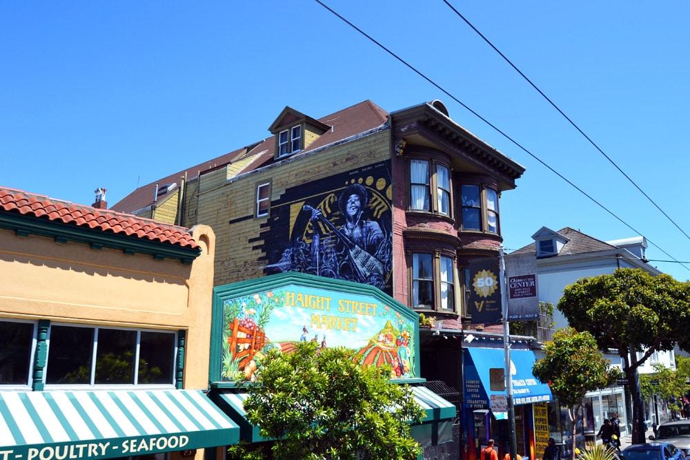 Haight Ashbury Red House Geburtshaus Jimi Hendrix