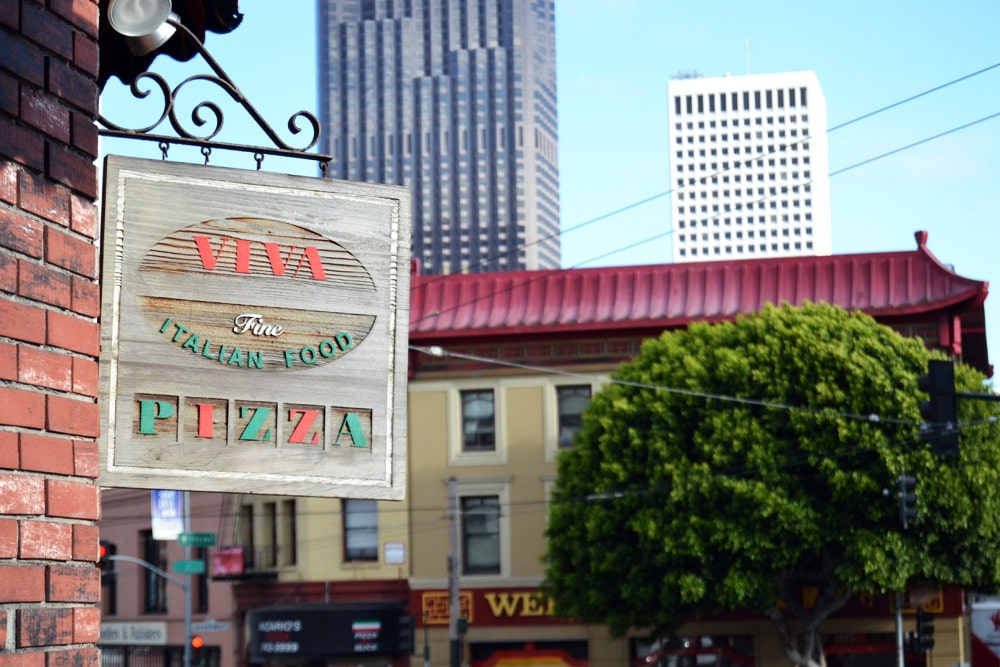 San Francisco North Beach Little Italy italienisches Viertel