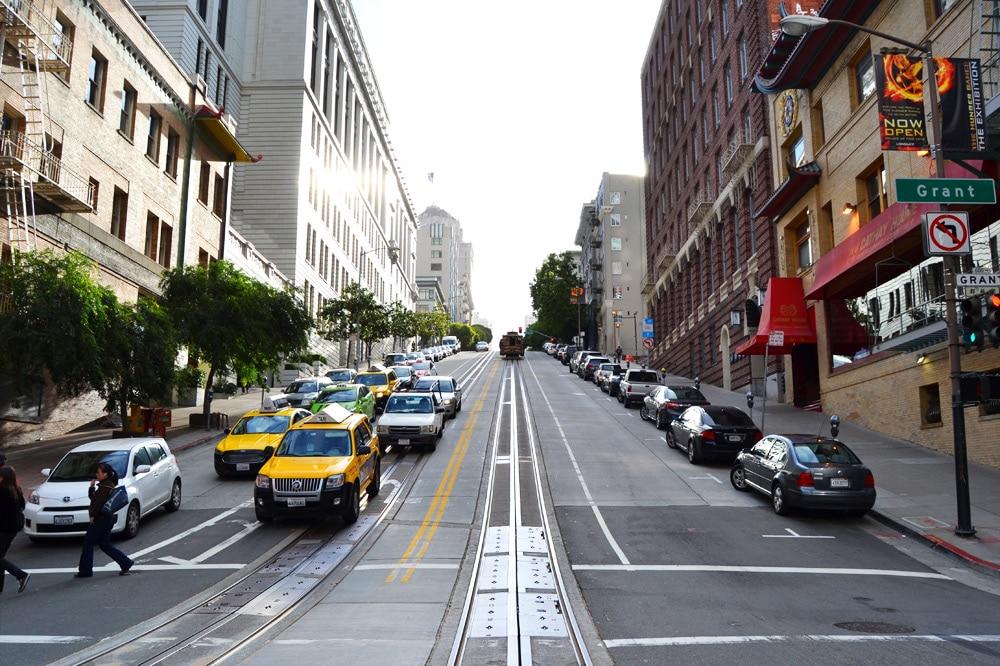 San Francisco steilste Straße