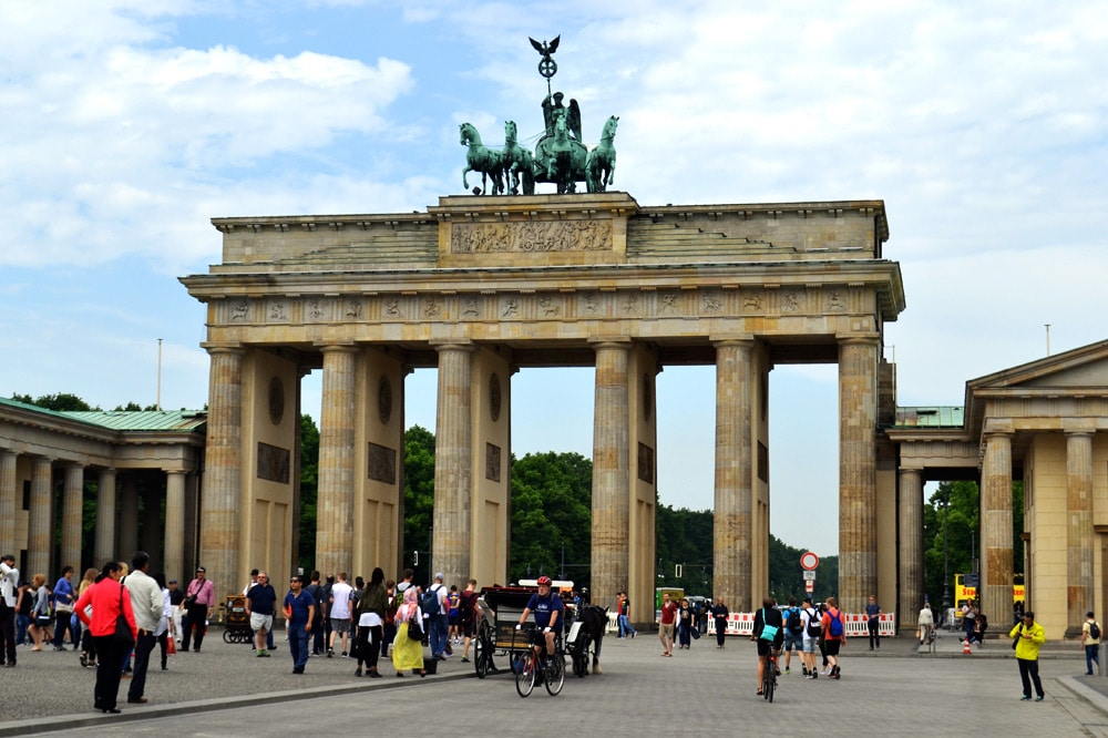 Brandenburger Tor Berlin Pariser Platz
