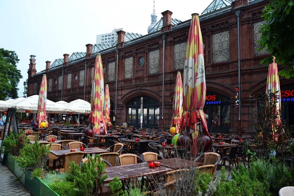 Berlin Hackescher Markt und Hackesche Höfe