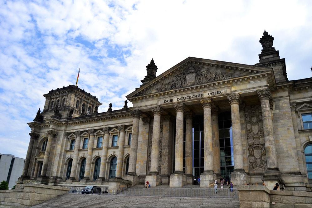 Reichstag Bundestag Berlin