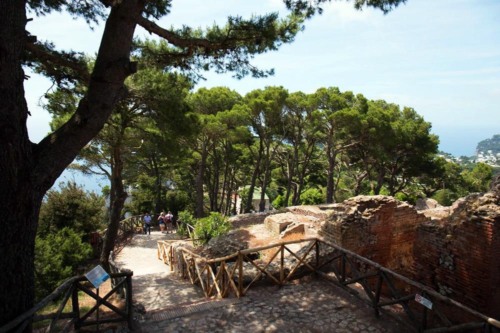 Villa Jovis auf Capri, Italien Amalfiküste