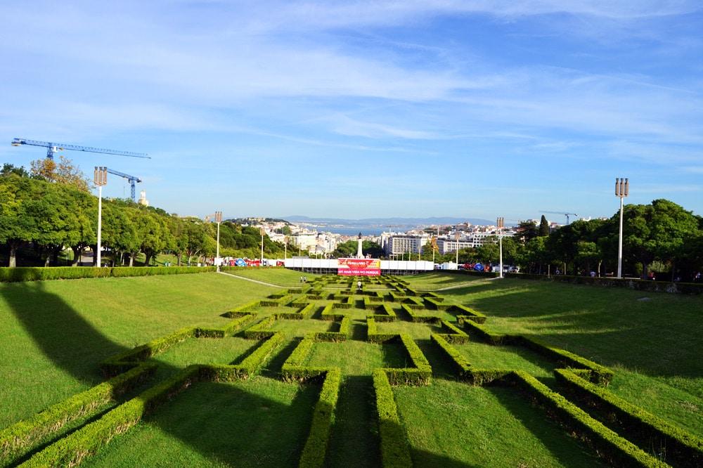 Parque Eduardo VII de Inglaterra Lissabon