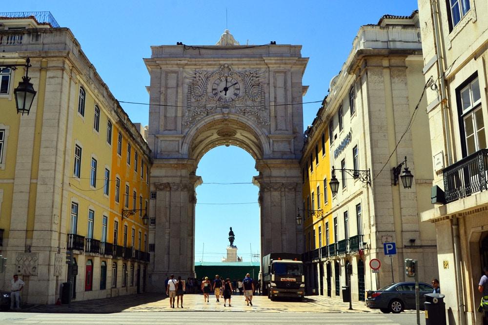 Arco da Rua Augusta Lissabon