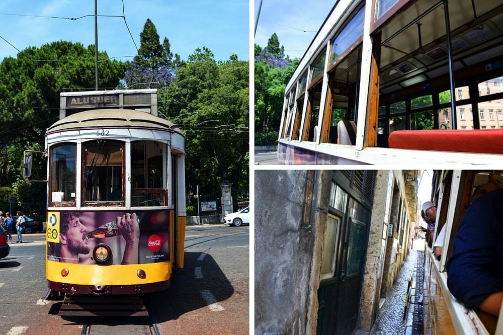 Lissabon Straßenbahn 28E Carreira Tram