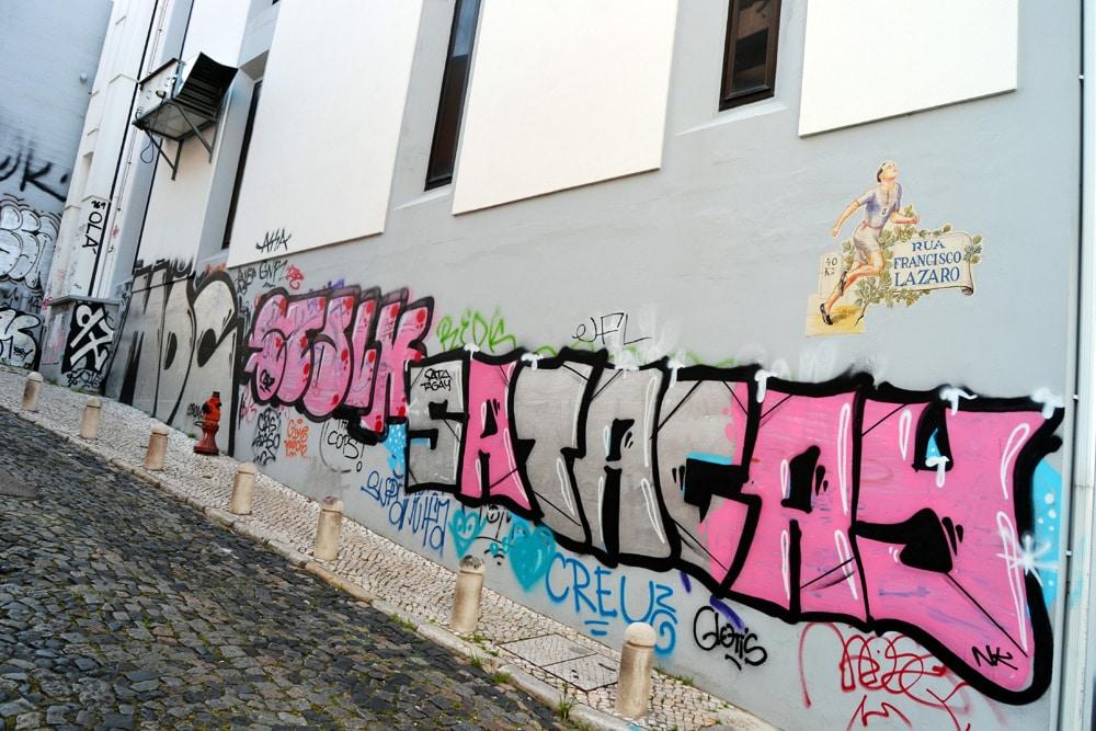 Lissabon Streetart Graffiti Straßenkunst