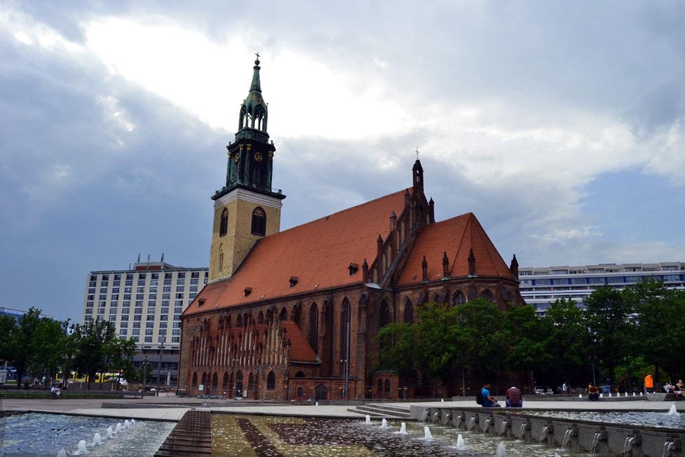 Marienkirche am Alexanderplatz Berlin
