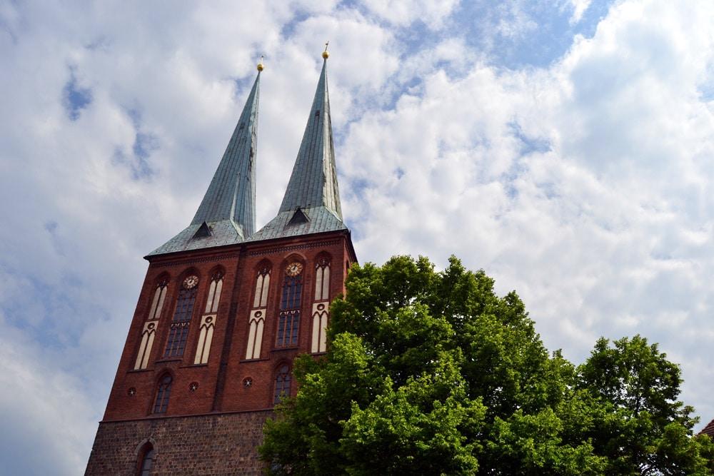 Nikolaikirche im Nikolaiviertel Berlin