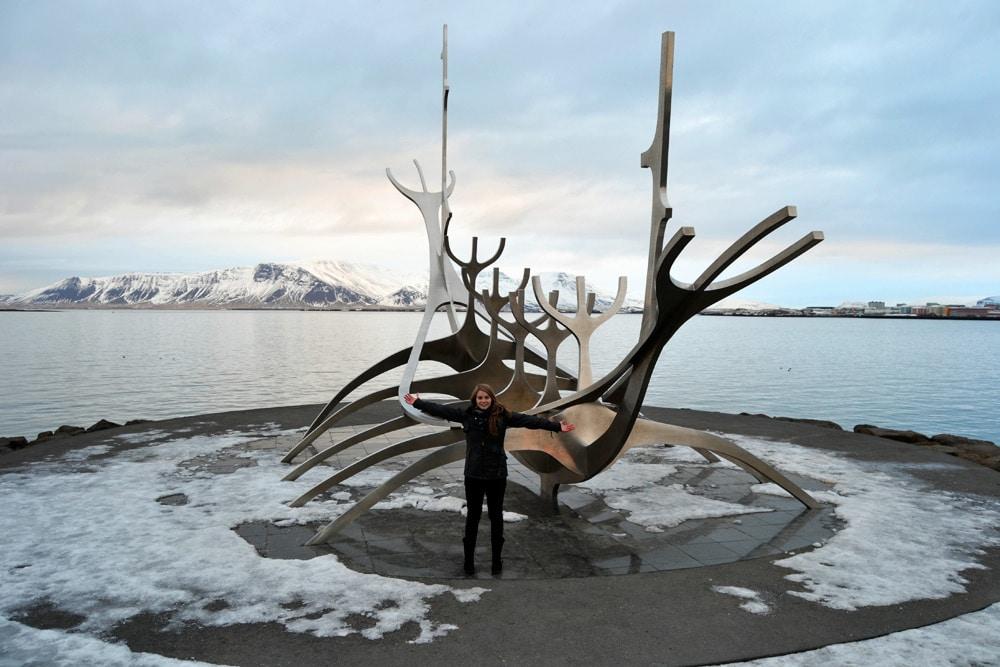 Reykjavik Wal Skelett