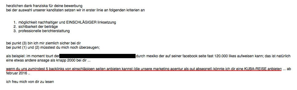 Epic Marketing Fails - die schlimmsten Kooperationsanfragen