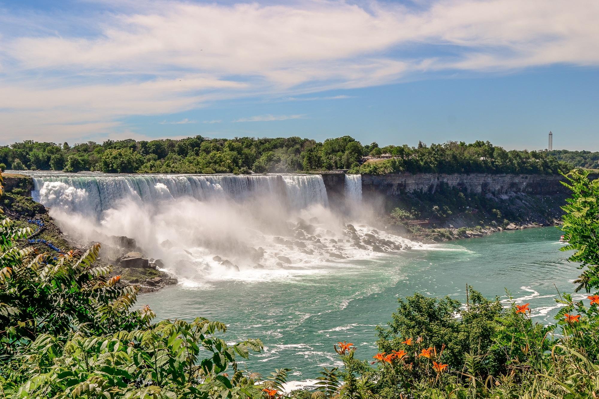 Niagarafälle in Ontario, Toronto, Niagara Falls