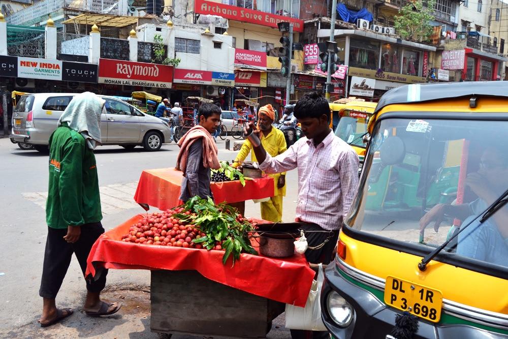 Basar Chandni Chowk - Markt in Old Delhi, Indien