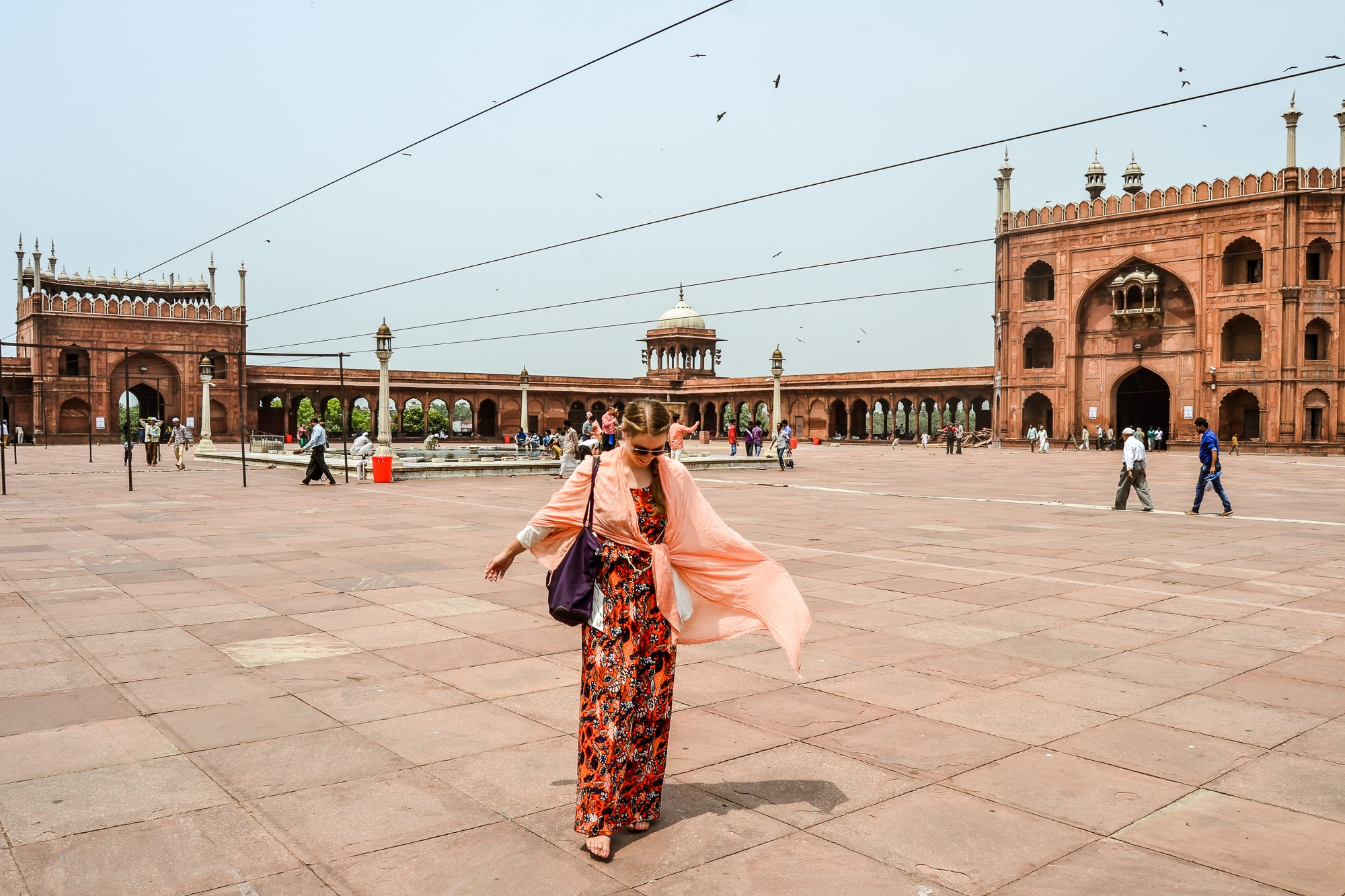 old-delhi-sightseeing-jama-masjid-moschee-red-fort