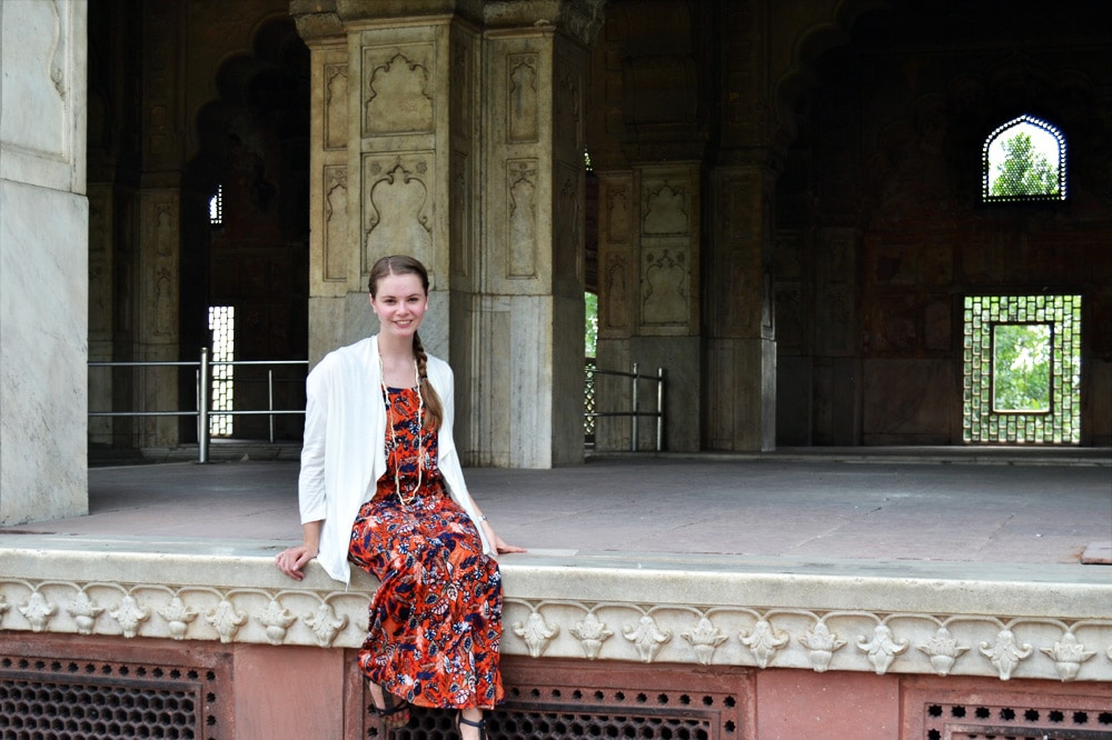 Red Fort - Rotes Fort - Festung in Old Delhi, Indien