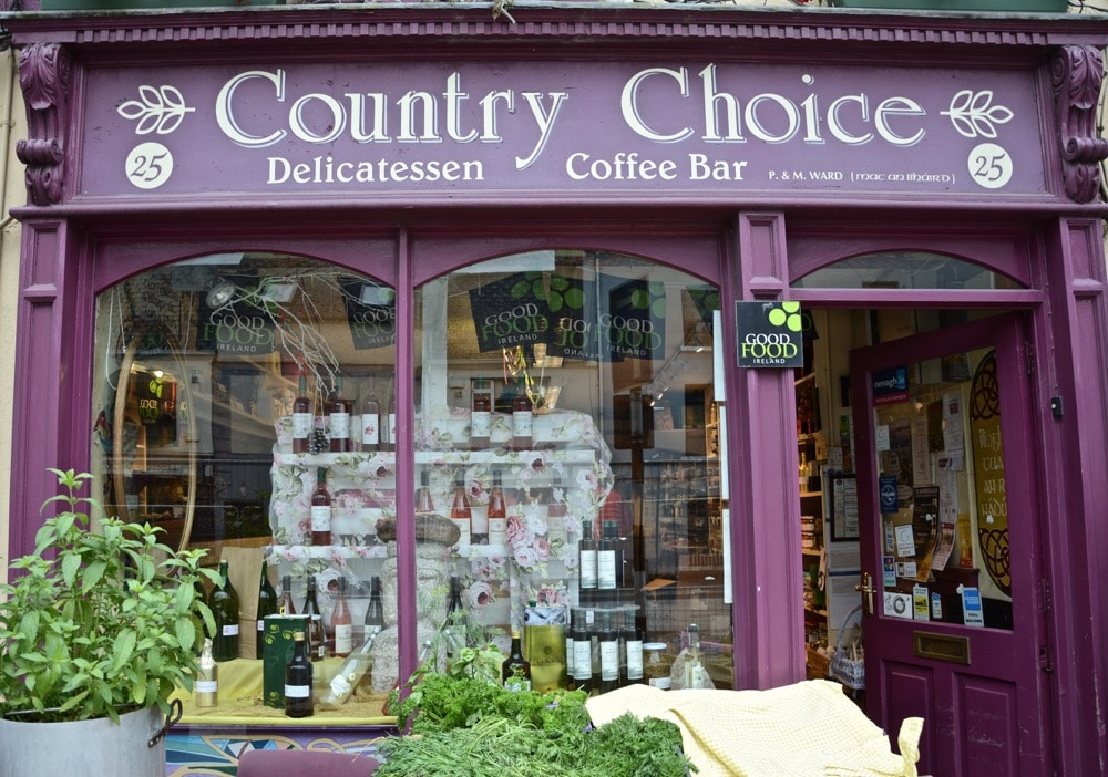 Country Choice Cheese Tasting im Nordwesten von Irland