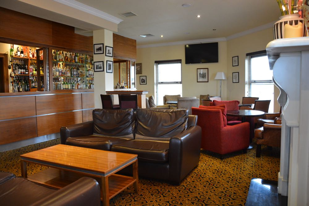 Lahinch Vaughan Lodge Hotel in Irland Lounge und Bar