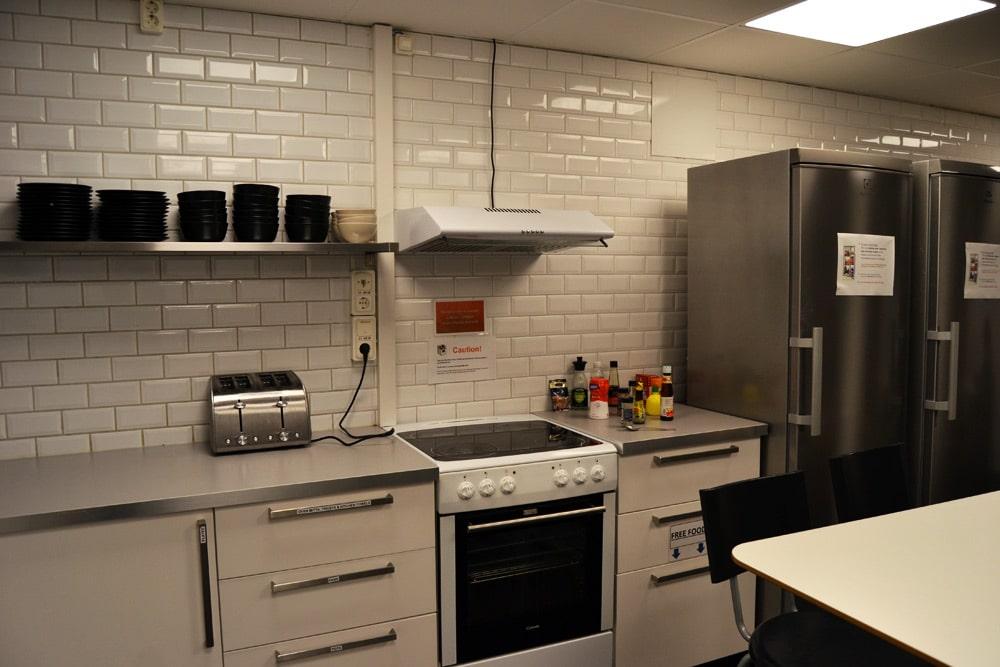 City Hostel Stockholm Küche