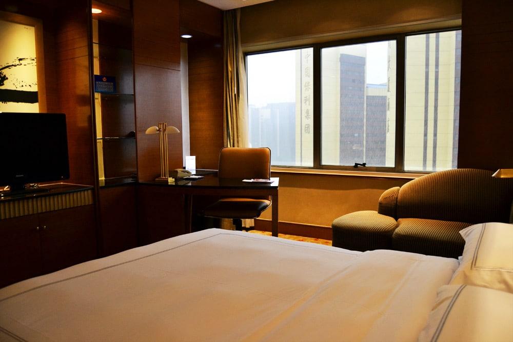 Peking Swissotel Beijing Hongkong Macau Center Standard Doppelzimmer