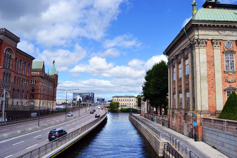 Stockholm Brücken in Östermalm und Gamla Stan