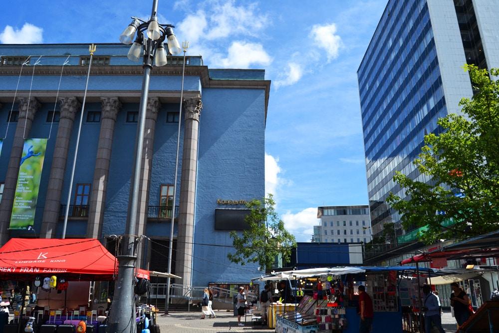 Stockholm Hay Market und Konserthuse