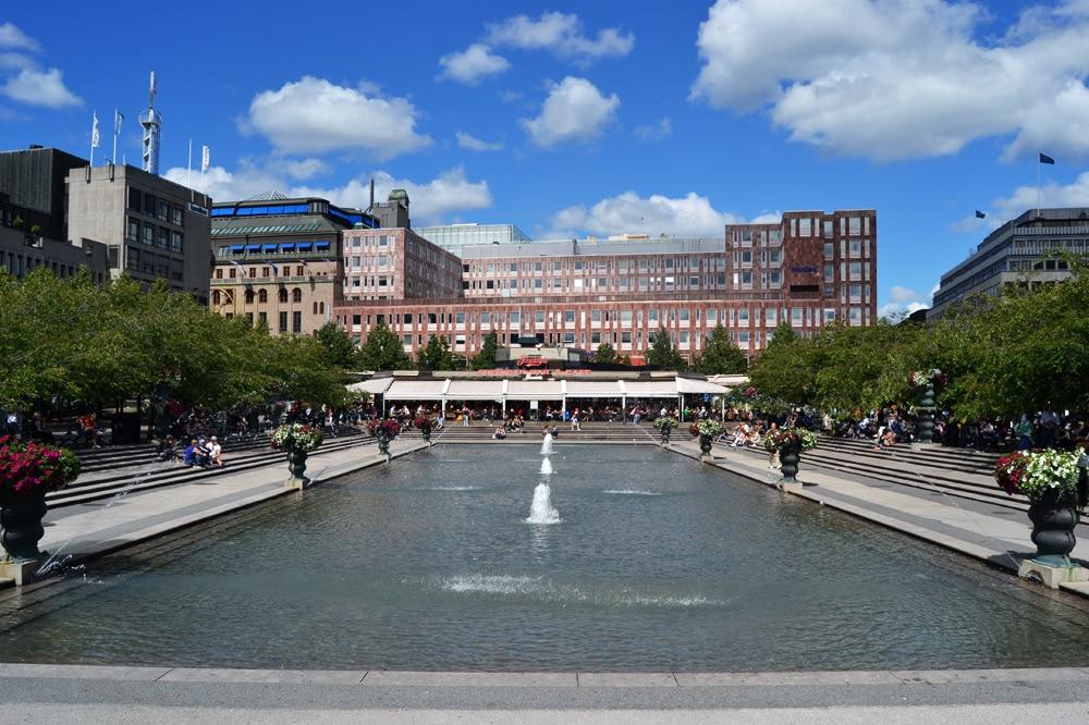 Kungsträdgarden in Stockholm, Schweden