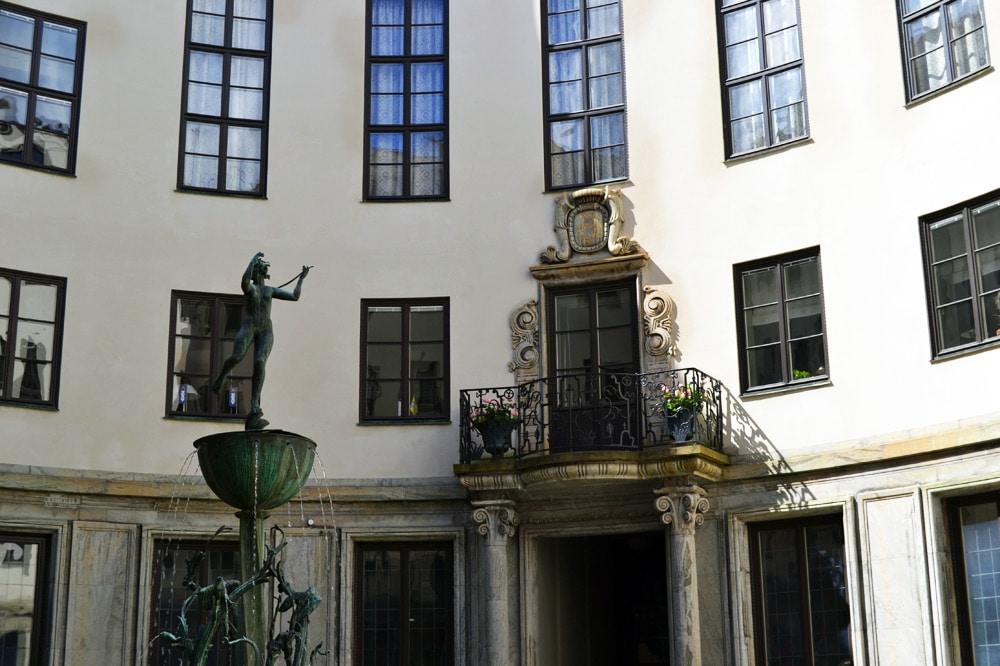 Tändstickspalaset Matchstick Palace in Schweden