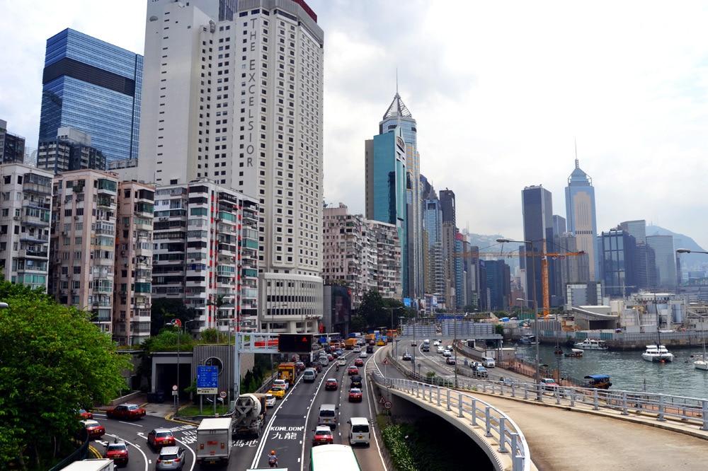 Hongkong Straßenverkehr