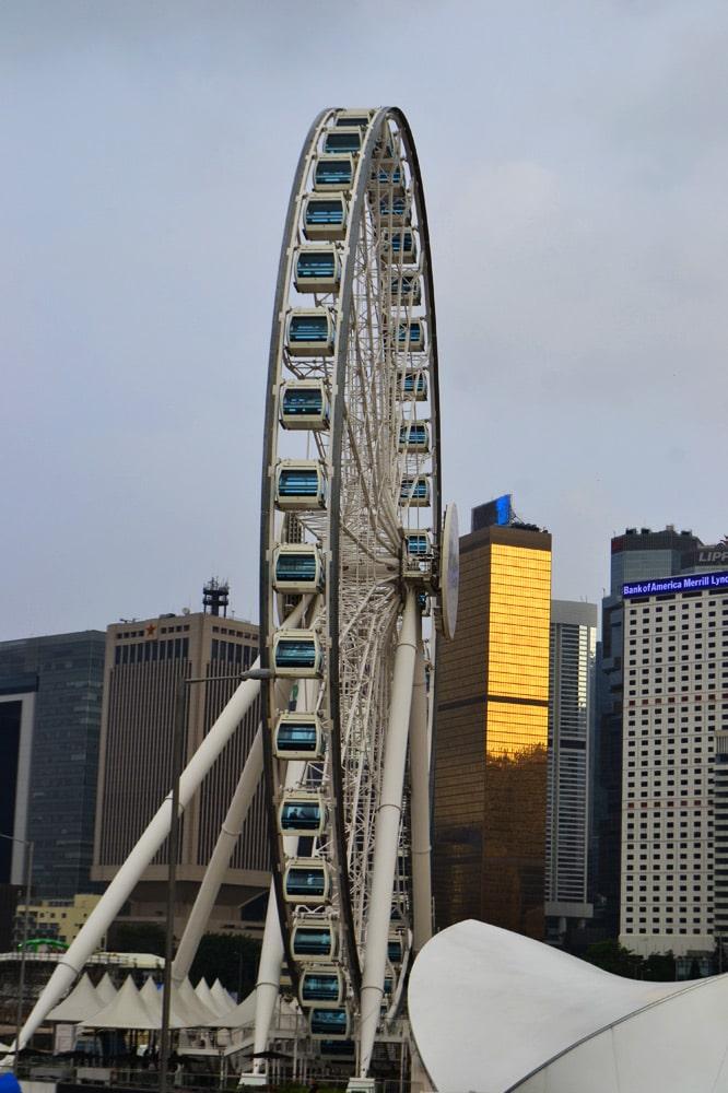 Hongkong Sehenswürdigkeiten: Hong Kong Observation Wheel