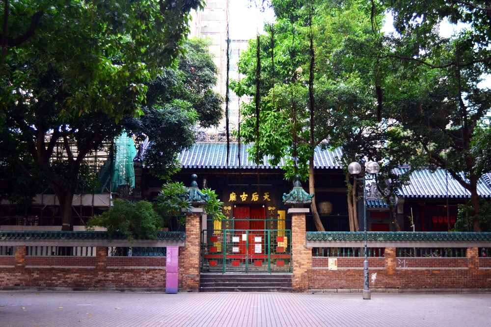 Hongkong Sehenswürdigkeiten: Temple Street, Night Market und Tin Hau Tempel