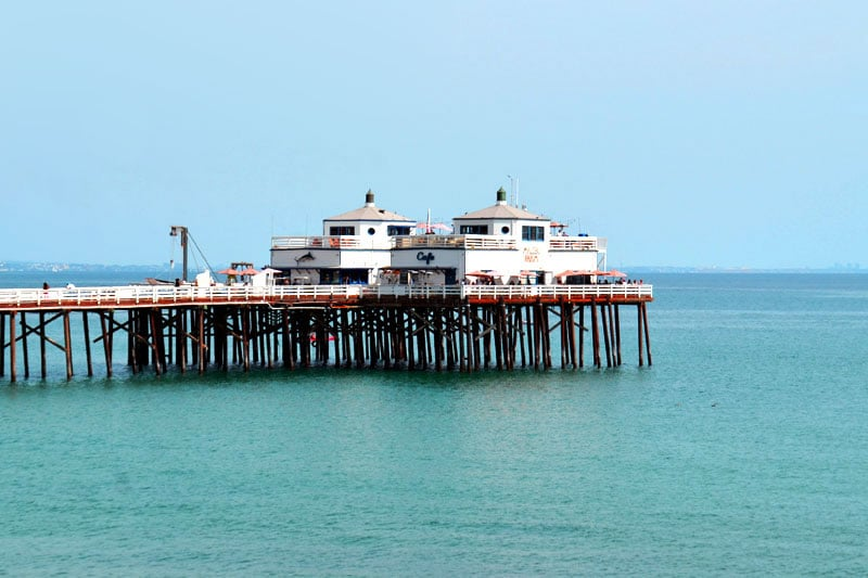 Los Angeles Malibu Beach Pier