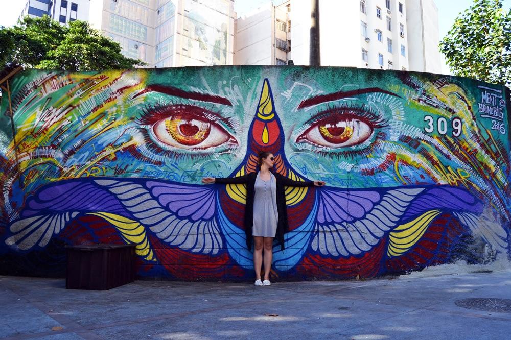 Rio de Janeiro Streetart in Santa Teresa