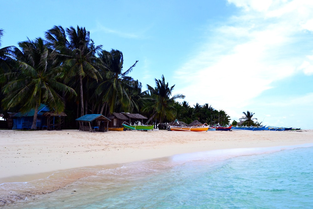 Daku Island Siargao Inselhopping - Philippinen