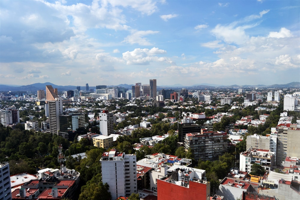 Hyatt Regency Mexico City - Aussicht