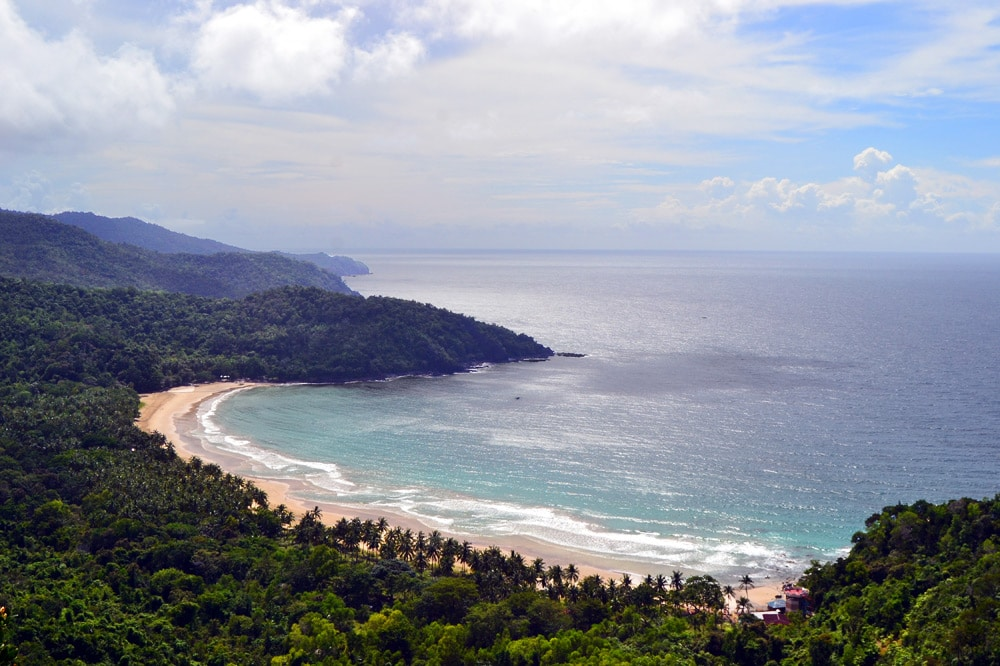 Nagtabon Beach Palawan, Philippinen