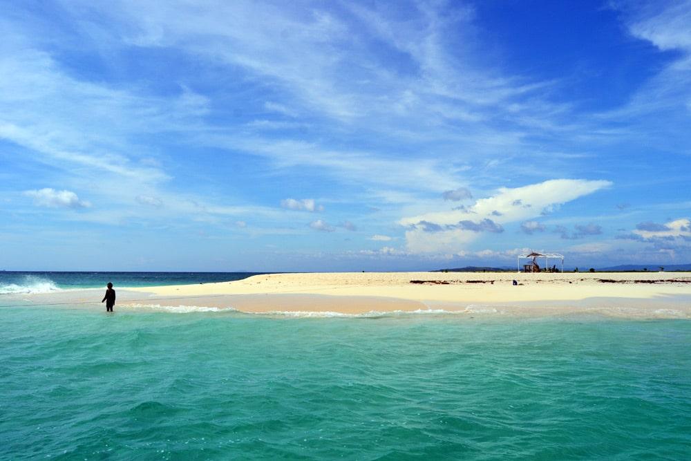 Naked Island Siargao, Philippinen