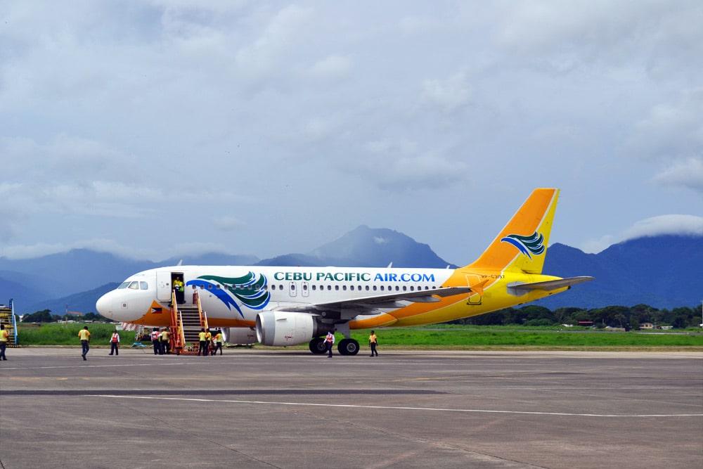 Cebu Pacific Flugzeug Philippinen Palawan