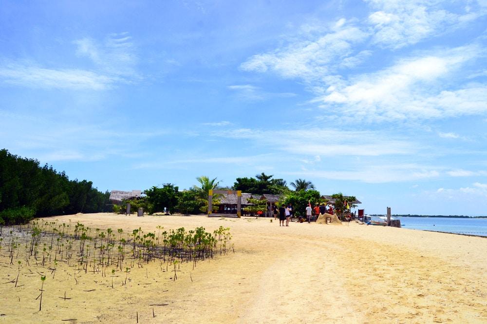 Luli Island, Palawan, Honda Bay Philippinen