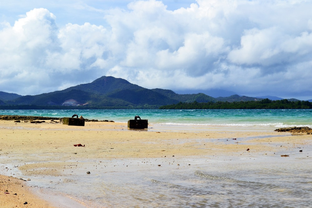 Cowrie Island, Palawan, Honda Bay Philippinen