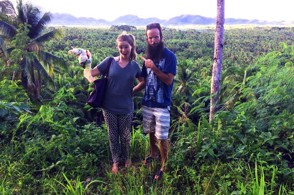 Siargao Philippinen Roller fahren auf der Insel