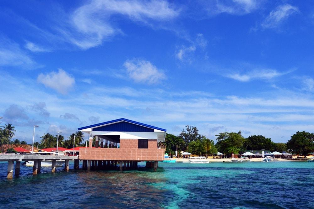 Siargao Bootsanlegestelle Pier in General Luna - Philippinen