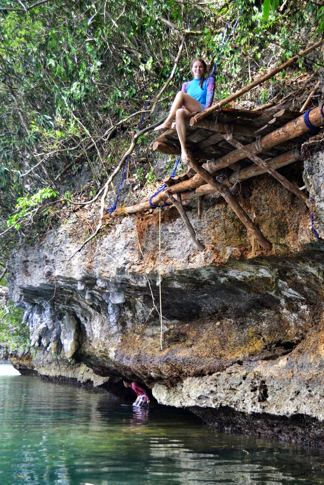 Sohoton Cave Kalkstein Höhle Bucas Grande, Siargao, Philippinen
